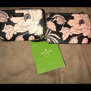 Matching Kate Spade Coin Purse And mini wallet
